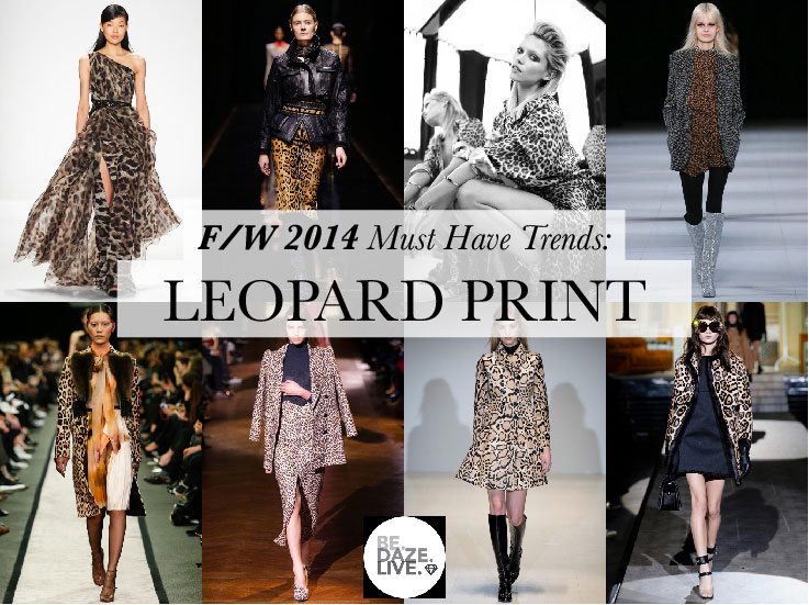 Fall Winter 2014 Trends: Leopard Print