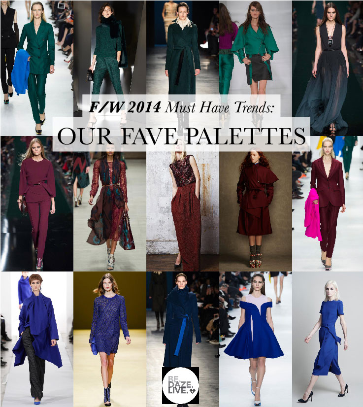 Fall Winter 2014 Trends_Our Fave Palettes
