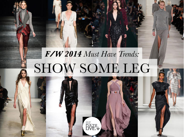 Fall Winter 2014 Trends: Show Some Leg