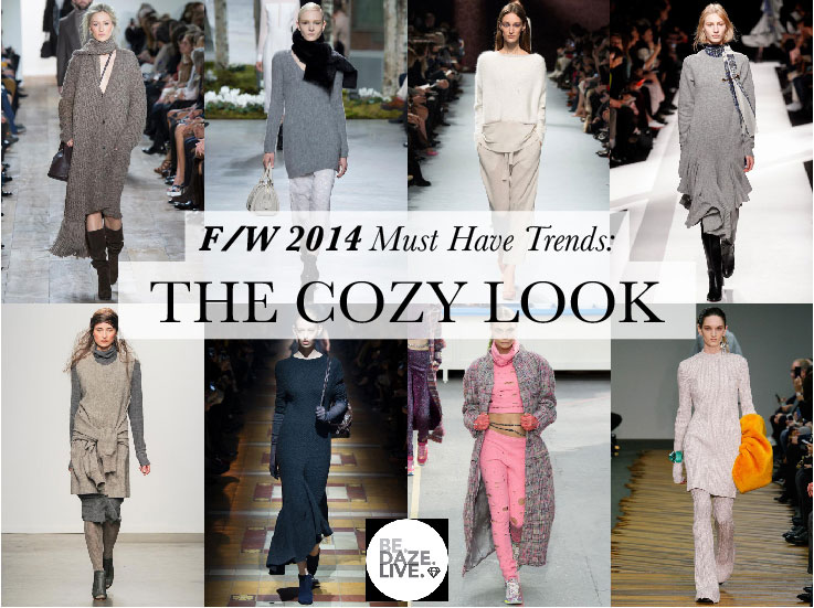 Fall Winter 2014 Trends: The Cozy Look