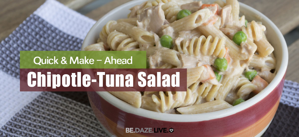 Quick Chipotle-Tuna Salad