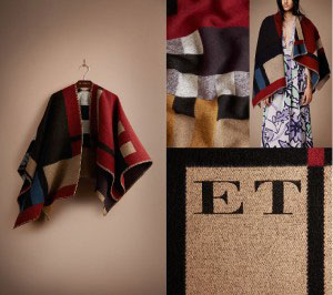 The Personalized Burberry Poncho_Burberry Website