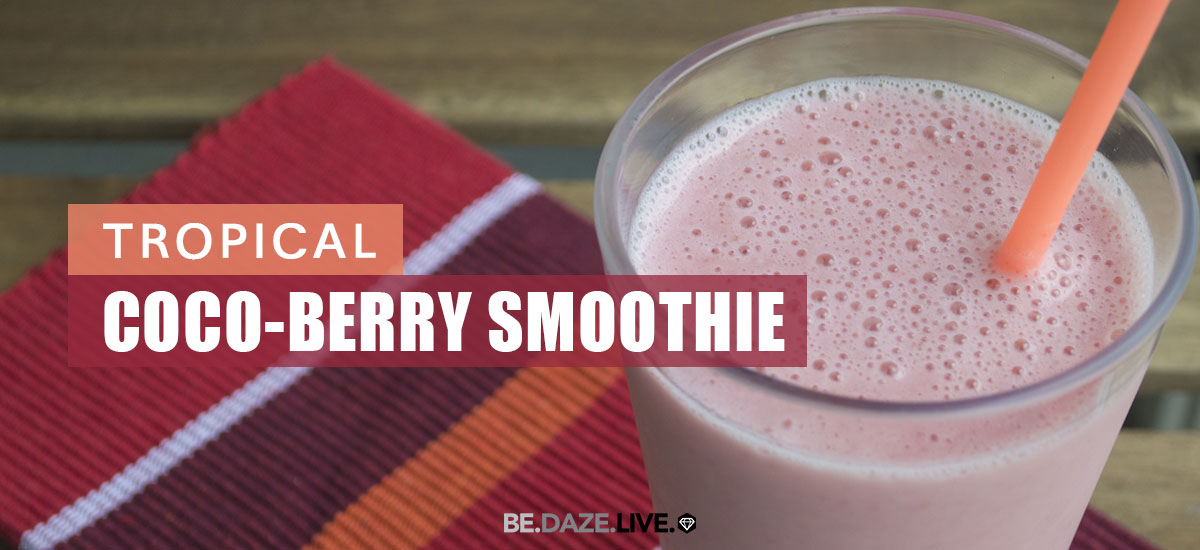Tropical Coco-Berry Smoothie