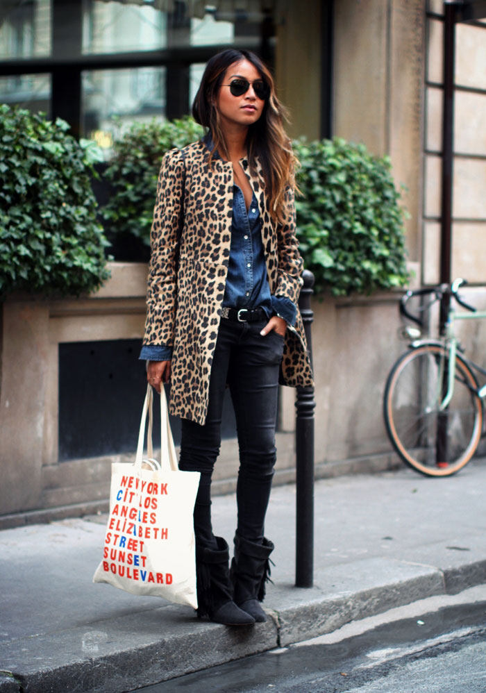 Look of The Day: Effortless Leopard