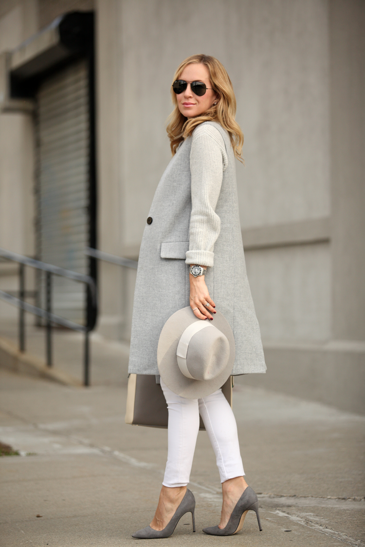 Look of the Day: Layers of Gray