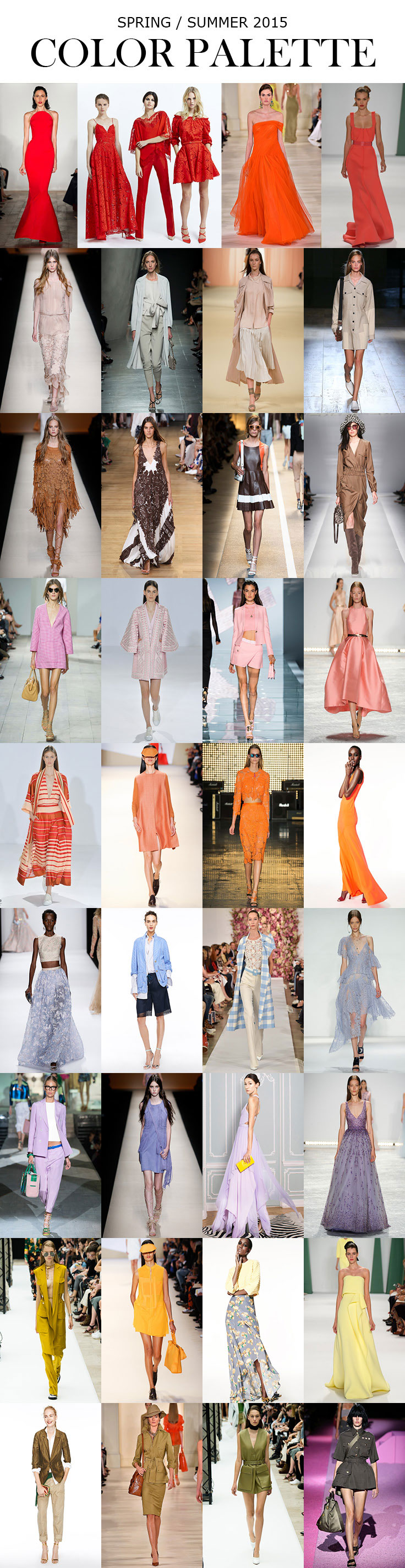Must Have Spring / Summer Trends for 2015