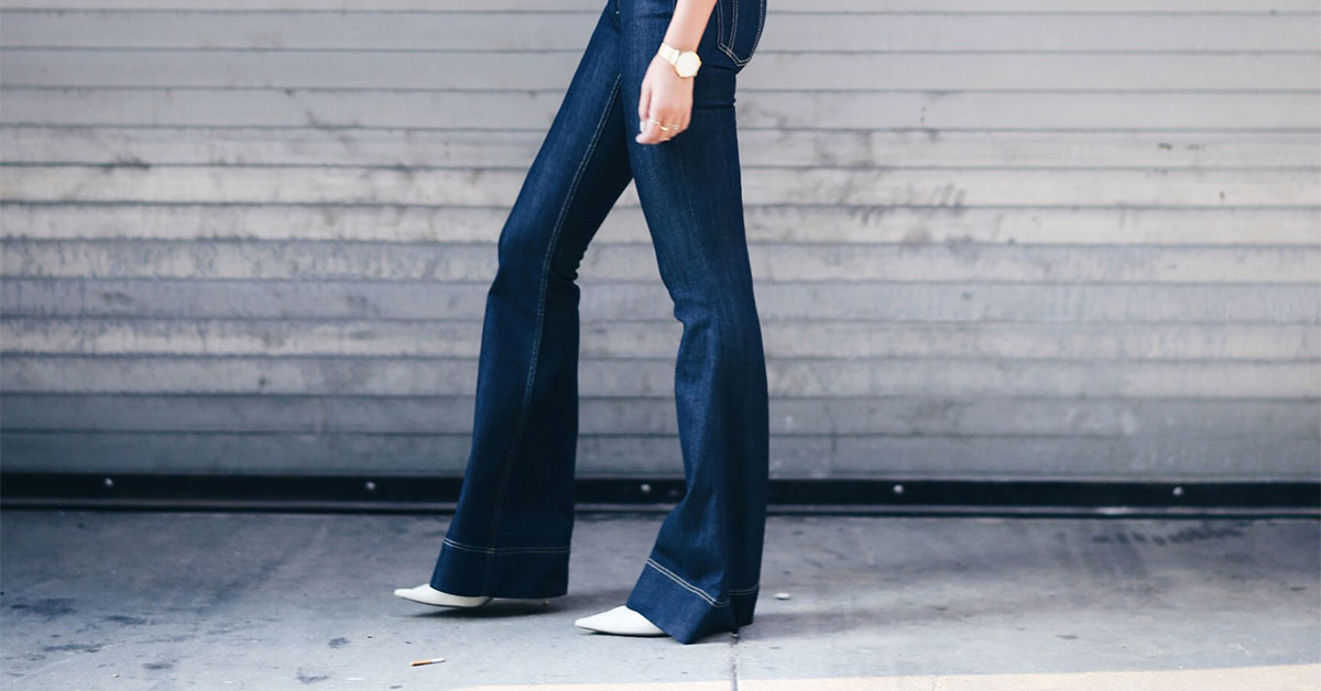 How To Wear Flare Jeans (even if you are petite)