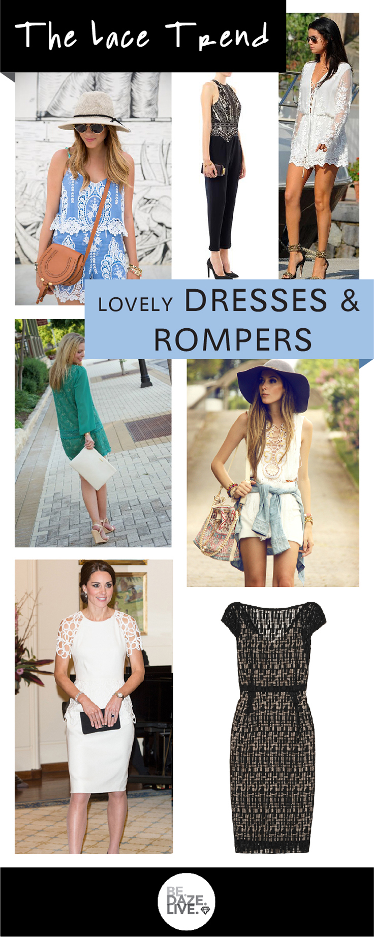 How to Wear The Lace Trend