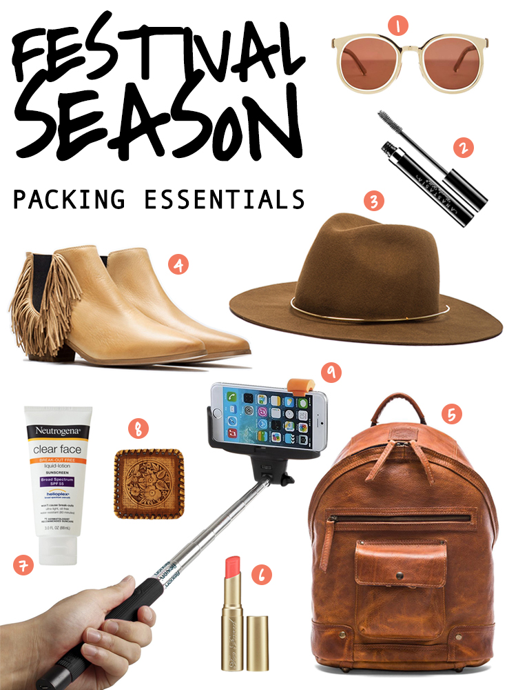 What To Wear For Coachela - Festival Packing Essentials (Earthy Style)