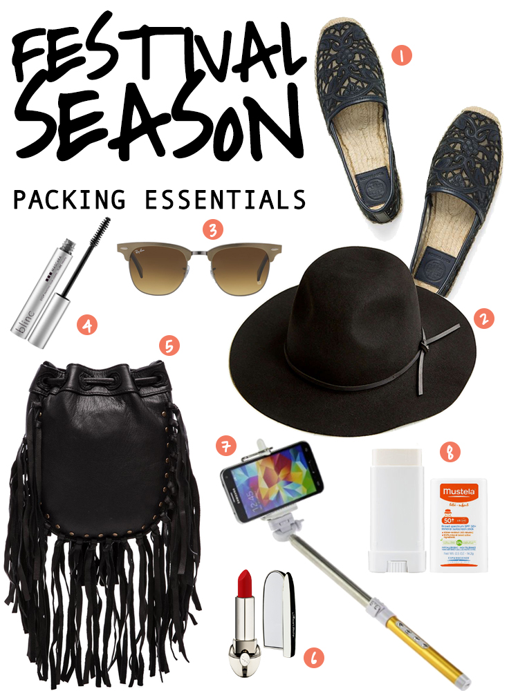 What To Wear For Coachela - Festival Packing Essentials (Rockstar Style)