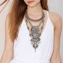 Nasty Gal Amanti Tiered Necklace