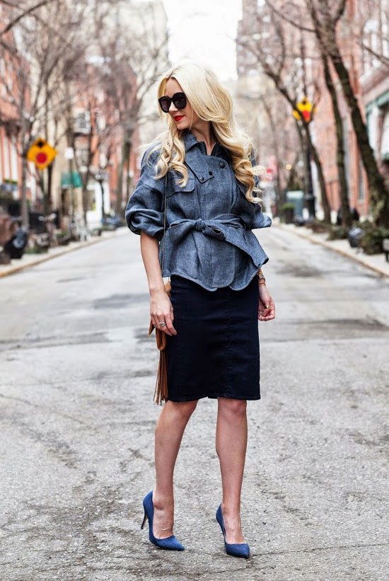 Look of The Day: Wrapped Up Denim