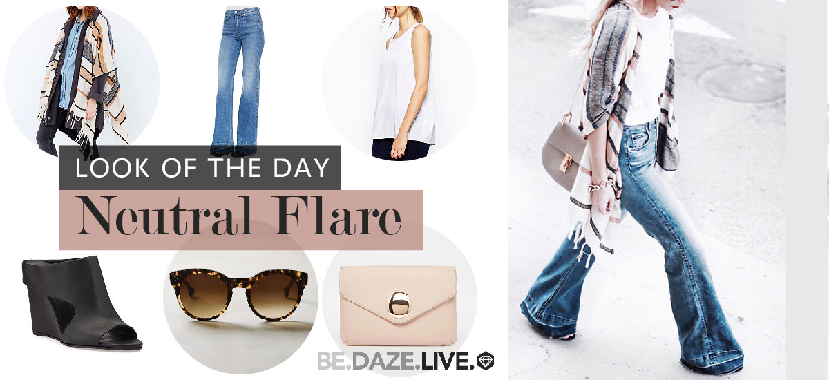 Look of the Day - Neutral Flare