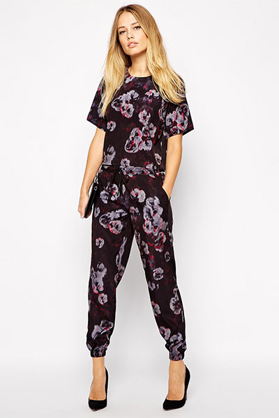 18_Warehouse Smokey Floral Co-Ord Top ($19.50 usd)