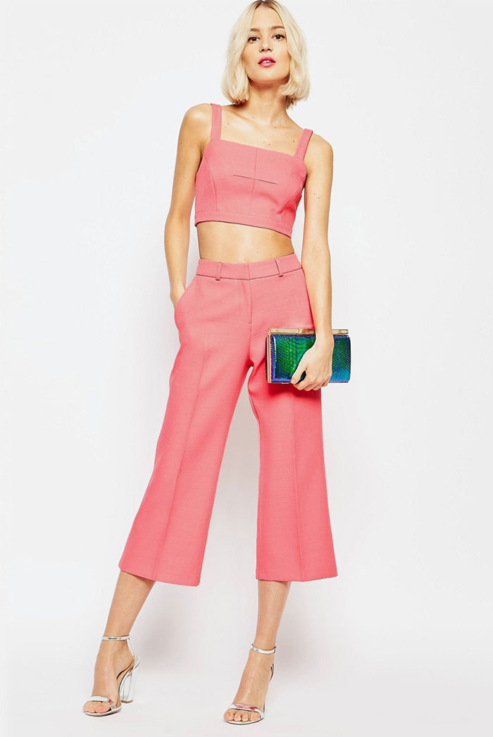 19_ASOS Square Neck Pink Bralet co-ord ($45 usd)