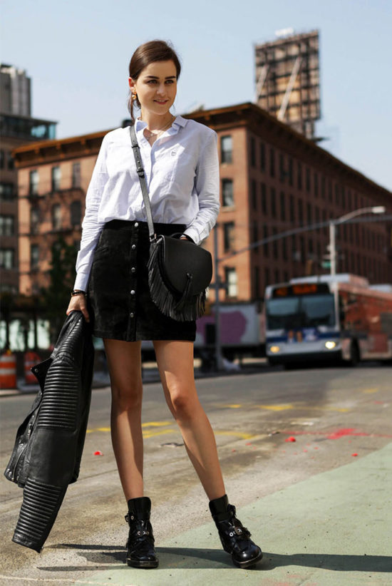 10 Super-Chic Ways to Wear A-Line Skirts