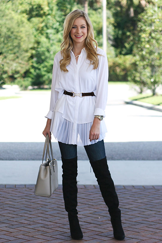 30 Ways To Wear Over The Knee Boots