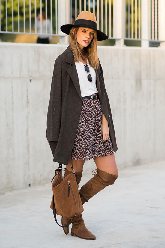 30 Ways To Wear Over The Knee Boots | Be Daze Live