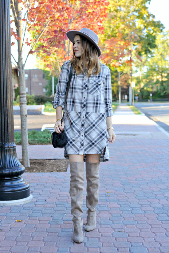 b7c01e09680d 30 Ways To Wear Over The Knee Boots | Be Daze Live