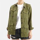 Topshop 'Elsa' Utility Jacket, army jacket, olive green jacket, army green jacket, military green jacket, military jacket