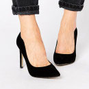 Truffle Collection Nova Pumps, black suede pumps, black suede pointy toe pumps, black suede heels, black heels, black pointy toe heels, black suede pointy toe heels, black stilettos, black suede stilettos