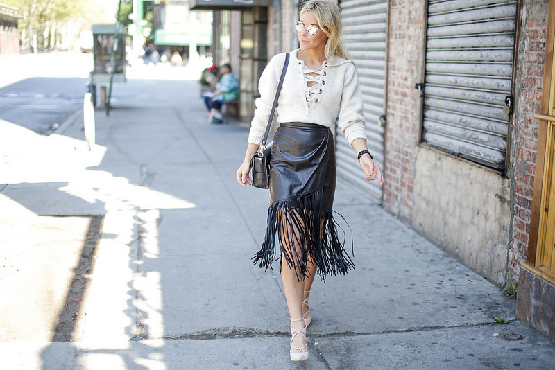 The Fringe Skirt 5 Ways