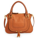 Chloé 'Marcie - Small' Satchel, brown handbag, brown bag