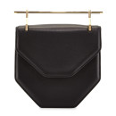 M2Malletier 'Amor Fati' Bag, black bag, black structured bag, black shoulder bag, black structured shoulder bag