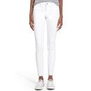 Articles of Society 'Sarah' Skinny Jeans, white skinny jeans, white mid-rise skinny jeans, white high rise skinny jeans