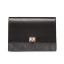 Sole Society 'Exotic' Clutch, black clutch