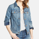 Madewell Denim Jacket, denim jacket, pocket denim jacket, mid wash denim jacket, light wash denim jacket