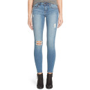 Articles of Society 'Sarah' Jeans, distressed skinny jeans, medium-wash distressed skinny jeans, light wash distressed skinny jeans
