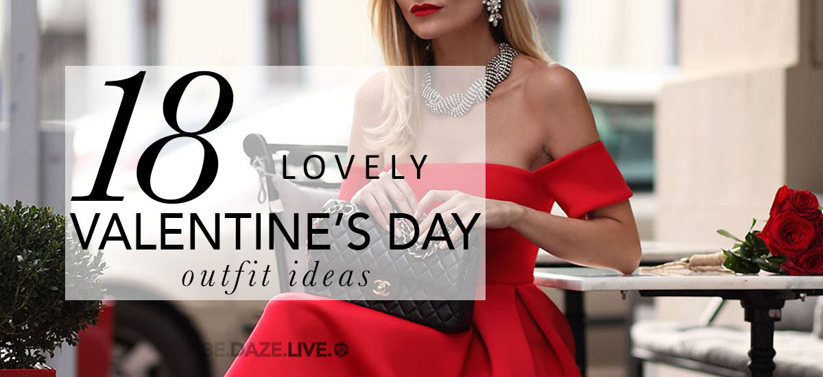 18 Lovely Valentine's Day Outfit Ideas, valentine's day outfits, valentine's day outfit ideas, what to wear for valentine's day