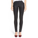 NYDJ 'Ami' Coated Skinny Jeans, black skinny jeans, black coated skinny jeans, black leather skinny jeans