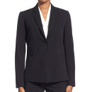 T Tahari 'Jolie' Blazer ($108 USD), black blazer, black one button blazer, black suit blazer