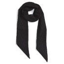 The Accessory Collective Skinny Scarf, black scarf, black skinny scarf, black thin scarf