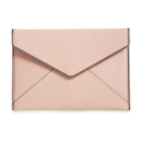 Rebecca Minkoff 'Leo' Clutch, pink clutch, pink envelope clutch, blush clutch, light pink clutch, pale pink clutch