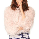 n:PHILANTHROPY 'Georgie' Faux Fur Jacket, pink fur coat, pink fur jacket