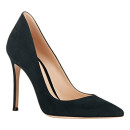 Gianvito Rossi Ellipsis Pumps, green suede pumps, green suede heels, green suede stilettos