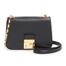 Michael Kors 'Small Gia' Bag, black bag, black handbag, black shoulder bag, black chain strap shoulder bag
