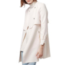 Topshop 'Putty' Coat, beige trench coat, boxy trench coat, modern trench coat, beige light coat, beige duster coat