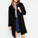 ASOS Oversized Coat, black coat