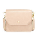 Neiman Marcus Crossbody Bag, blush shoulder bag, pale pink shoulder bag