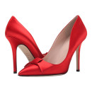 Kate Spade New York Layla Pumps, Red Bow Pumps