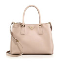 Prada Saffiano Medium Tote, Blush