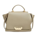 Zac Zac Posen 'Eartha' Satchel, nude handbag, nude winged handbag, beige handbag, beige bag, nude bag, beige winged handbag