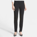 Vince Camuto Knit Ankle Pants (Regular & Petite), black ankle pants, black petite ankle pants, black knit ankle pants