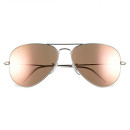 Ray-Ban 'Original Aviator' Sunglasses, pink sunglasses, metallic sunglasses, mirror sunglasses, aviator sunglasses, pink aviator mirror sunglasses