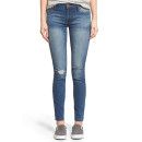 STS Blue 'Bella' Skinny Jeans, skinny jeans, distressed skinny jeans, mid wash skinny jeans, distressed mid wash skinny jeans