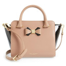 Ted Baker London 'Ashlene - Bow' Tote, nude bag, nude shoulder bag, blush bag, blush shoulder bag, winged bag